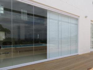 FG02 Security Shutters Frameless Glass