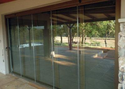FG04 Security Mesh FG Frameless Glass