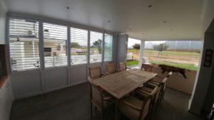 FG Frameless Glass - FG Security Shutters - Living room shutters- Developments