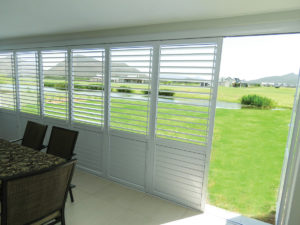 FG02 Security Shutters Frameless Glass