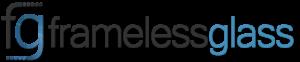 FG Frameless Glass Logo-Grey Landscape