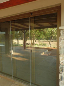 FG04 Security Mesh System FG Frameless Glass