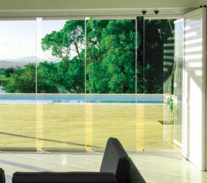 FG03 Sliding Stacking FG Frameless Glass