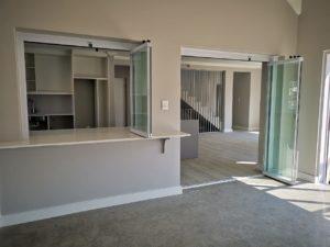 Kitchen renovation - frameless glass