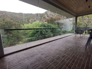 FG Frameless Stackaway Glass Systems - Safari Lodge - Hospitality