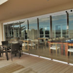 FG Frameless Glass - FG Frameless Stackaway Glass Systems - Restaurant - patio enclosure - Corporate